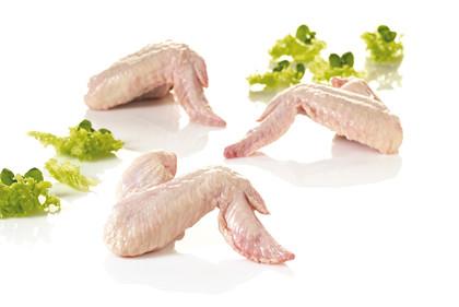 Økologisk kyllingevinge