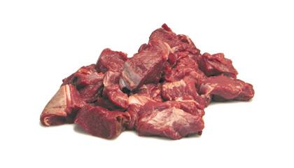 Dansk lammekød i tern