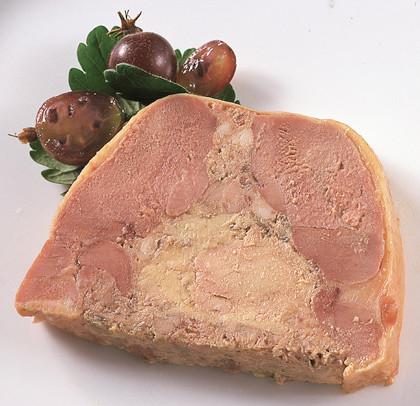 Duepaté med foie gras
