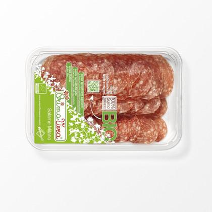 Økologisk Salame Milano i skiver