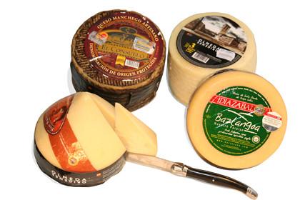 Ass. spansk ostekasse
