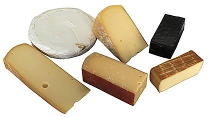 Assorteret dansk ostekasse