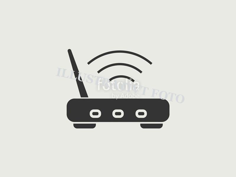 4G Router m. 4 porte uden simkort  <br />Tilbehør