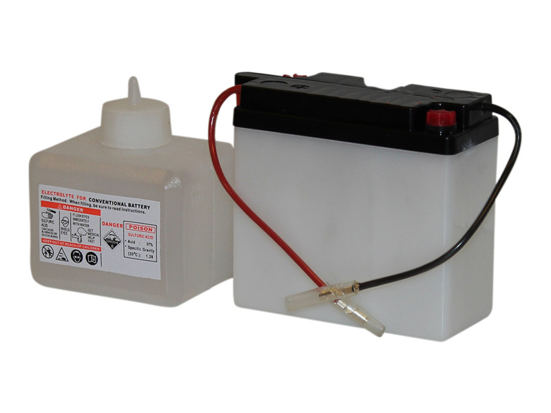 Batteri 4Ah/6V/101x47x95 <br />Start - MC - SMF