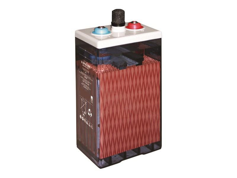 Batteri 250Ah/2V/124x206x420 <br />Stationary - OPzS cell