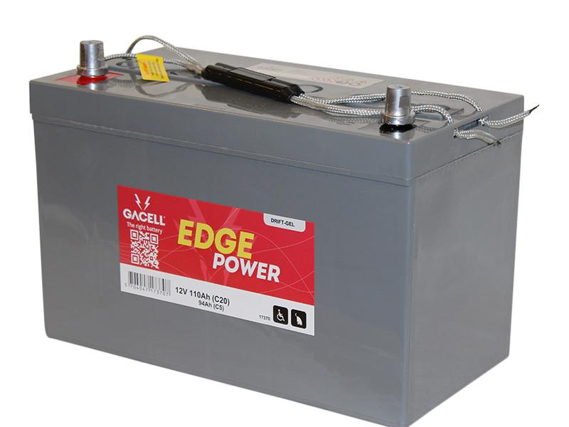 Batteri 110Ah/12V/329x173x210 <br />Drift - GEL - Deep Cycle