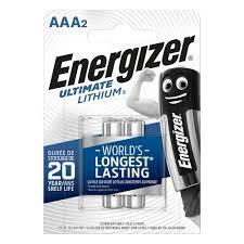 Batteri 1,25Ah/1,5V - AAA <br />Elektronik - Lithium