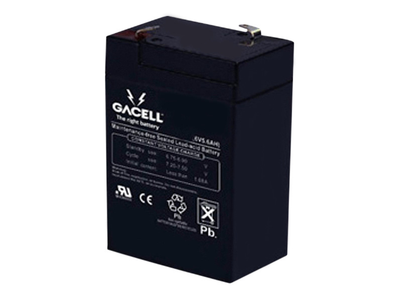 Batteri 5,6Ah/6V/70x47x100 <br />Drift - AGM - Deep Cycle
