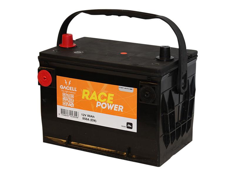 Batteri 80Ah/12V/257x175x180 <br />Start - Auto - SMF