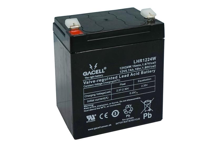 Batteri 5,3Ah/12V/90x70x101 <br />Drift - AGM - Deep Cycle