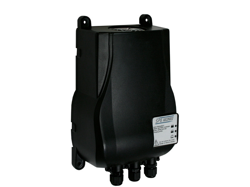Lader 25A/24V/245x160x90 - 100-240Vac <br />Lader-Drift