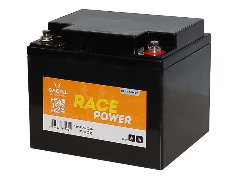 Batteri 41Ah/12V/198x167x172 <br />Drift - AGM - Deep Cycle