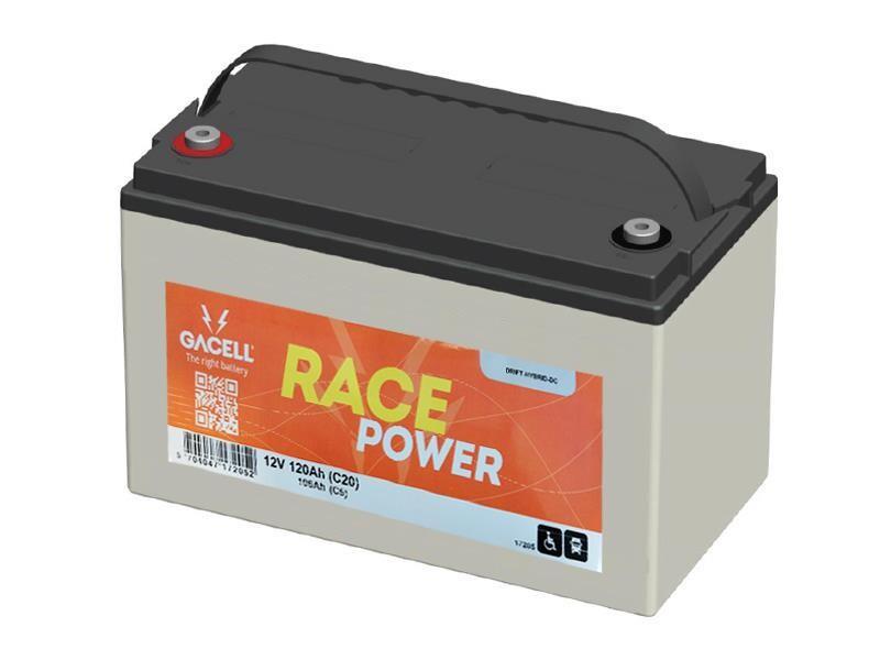 Batteri 112Ah/12V/329x173x210 <br />Drift - HYBRID - Deep Cycle