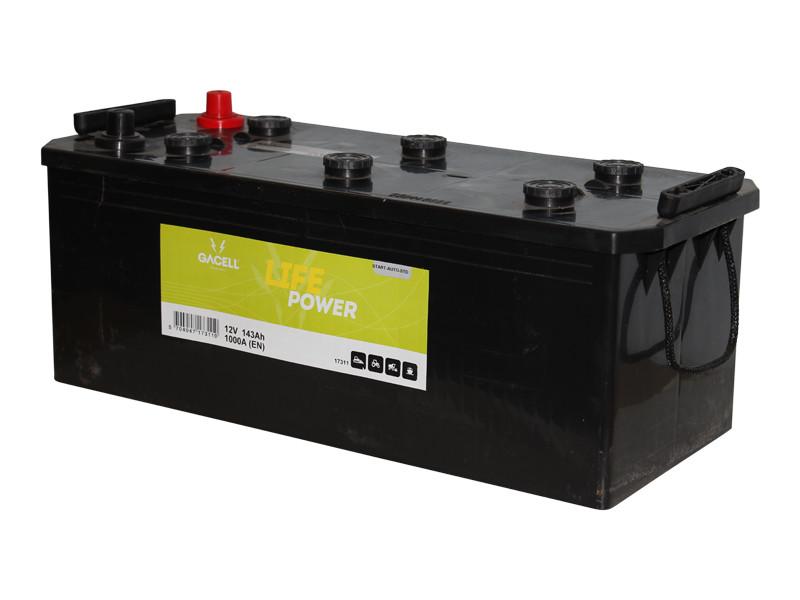 Batteri 143Ah/12V/513x218x210** <br />Start - Auto - STD