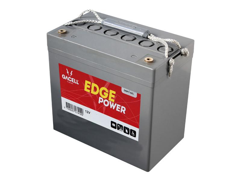 Batteri 55Ah/12V/229x138x213 <br />Drift - GEL - Deep Cycle