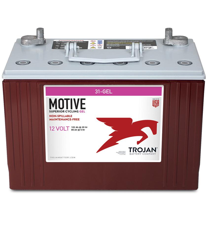 Batteri 102Ah/12V/329x171x247 <br />Drift - GEL - Deep Cycle