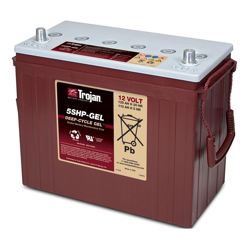 Batteri 125Ah/12V/345x171x280 <br />Drift - GEL - Deep Cycle