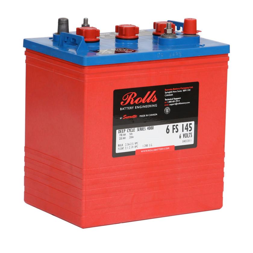 Batteri 250Ah/6V/260x181x292 <br />Drift - Flooded - Deep Cycle