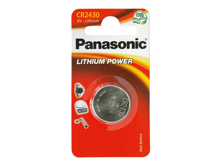 Batteri 0,285Ah/3V - CR2430 <br />Elektronik - Knapceller