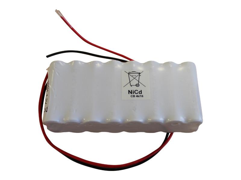 Batteri 0,8Ah/1,2V <br />