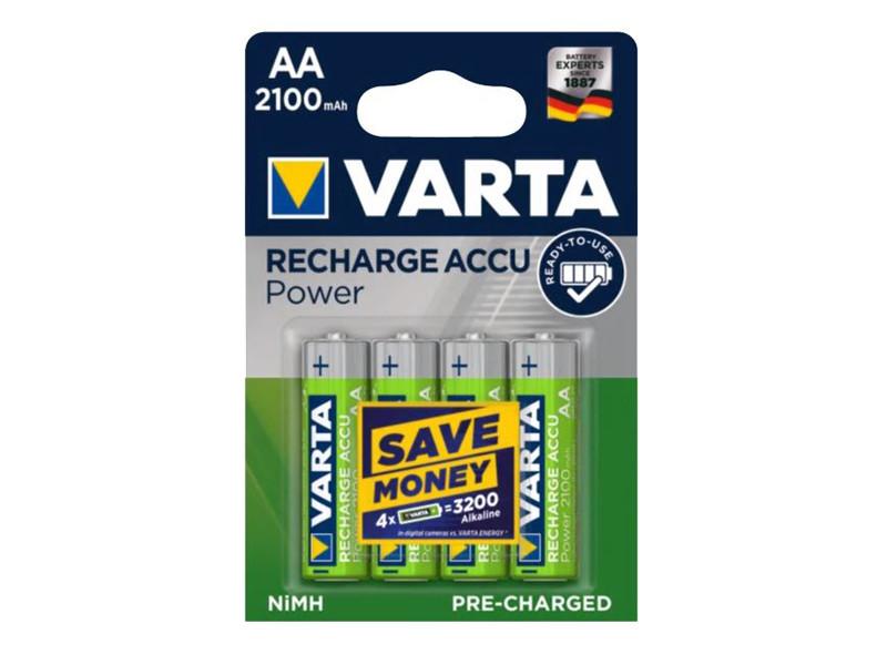 Batteri 2,1Ah/1,2V - AA <br />Elektronik - Genopladelig
