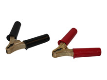 Clamps - Set - 200A, Red + Black <br />Accessories