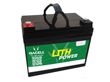 Batteri 36Ah/12,8V/194x130x162 <br />Drift - Li-Ion
