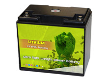 Batteri 20Ah/25,6V/196x135x176 <br />Drift - Li-Ion