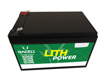 Batteri 12Ah/12,8V/151x98x95 <br />Drift - Li-Ion