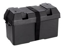 Batteriboks, stor/410x195x200/410x195x26 <br />