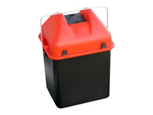 Battery bucket for used batteries <br />Accessories