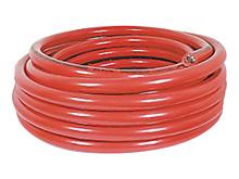 Kabel, 10qmm, rød, lbm. <br />Tilbehør