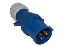 Plug, CEE 220V/16A, Blue <br />Accessories