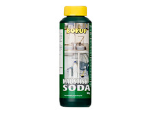 Kaustisk soda - 1 liter <br />Tilbehør