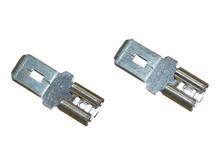 Adapter spadestik 4,8 til 6,3 mm <br />Tilbehør - Sæt á 2 stk.