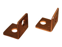 Adaptor, angle copper - Ø6 <br />Accessories