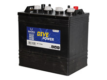 Batteri 175Ah/8V/260x181x276 <br />Drift - Flooded - Deep Cycle