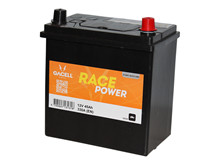 Batteri 45Ah/12V/218x133x223 <br />Start - Auto - SMF