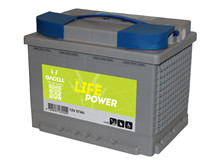Batteri 57Ah/12V/242x175x190 <br />Drift - AGM - General Purpose