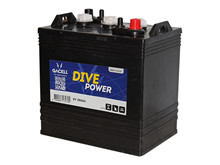 Batteri 260Ah/6V/260x181x292 <br />Drift - Flooded - Deep Cycle