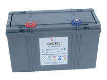 Batteri 500Ah/2V/386x168x232 <br />Stationær - AGM - Longlife