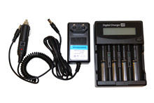 Charger 2*500mA+2*1000mA/4,2-1,48V  <br />Charger-Electronics
