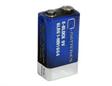 Batteri 0,5Ah/9V - Block <br />Elektronik - Alkaline