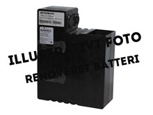 Batteri 17,4Ah/36V <br />Drift - Li-Ion