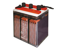 Batteri 250Ah/6V/380x205x392 <br />Stationær - OPzS blocks