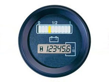 "Battery ""Fuel"" Gauge  - 12/80V <br />Accessories"
