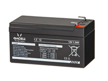 Batteri 1,3Ah/12V/97x48x52 <br />Drift - AGM - General Purpose