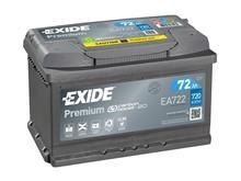 Batteri 72Ah/12V/278x175x175 <br />Start - Auto - SMF