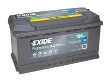 Battery 100Ah/12V/353x175x190 <br />Start - Auto - SMF