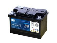 Sonnenschein batteri 56Ah/12V  <br />Drift - GEL - Deep Cycle